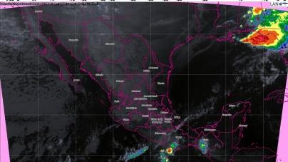 Ambiente frío en el norte, noreste, oriente y centro de la República Mexicana