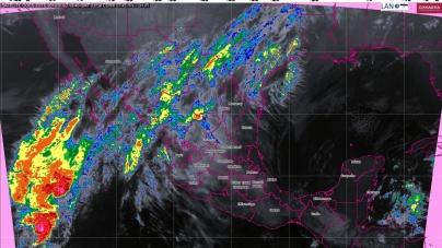 Lluvias con intervalos de chubascos, se prevén en Oaxaca, Chiapas y Quintana Roo