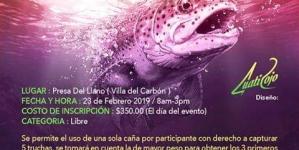 Torneo de pesca Villa del Carbón 2019