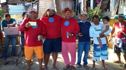 Con vela de 26,700 kg, el capitán Reyes Piza triunfa en torneo de altura en Lázaro Cárdenas, Michoacán