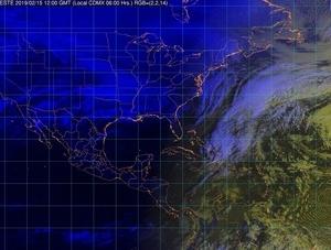 Condiciones meteorológicas estables y secas, bajo potencial de lluvias e incremento de temperaturas diurnas