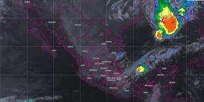 Se prevén tormentas puntuales intensas en regiones de Veracruz, Oaxaca y Chiapas