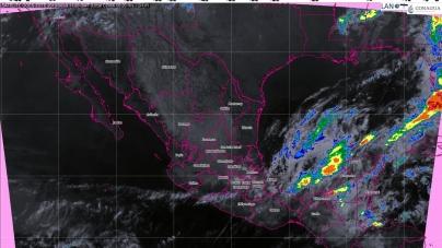 En Tabasco, Chiapas y Quintana Roo hoy se prevén tormentas intensas