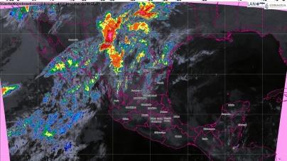 Se prevén temperaturas diurnas de calurosas a muy calurosas en la mayor parte de México, debido a una onda de calor
