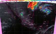 Prevén tormentas fuertes, actividad eléctrica y posibles granizadas en Oaxaca y Chiapas