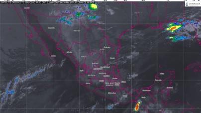 Tormentas fuertes con granizo se prevén en Coahuila, Nuevo León y Tamaulipas