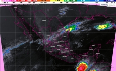 Pronostican tormentas muy fuertes para Tamaulipas, San Luis Potosí, Hidalgo, Puebla, Oaxaca y Veracruz