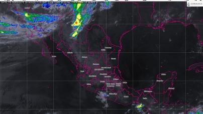 Tormentas de fuertes a muy fuertes con actividad eléctrica y granizo se prevén en el sur y el sureste de México