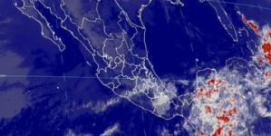 Se prevén tormentas puntuales muy fuertes en Oaxaca y Chiapas y fuertes en Puebla, Veracruz, Campeche y Yucatán