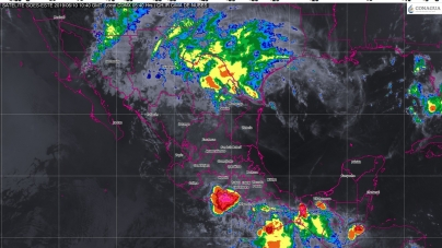 Se prevén tormentas muy fuertes con actividad eléctrica y posible granizo en Tabasco y Chiapas