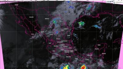 Hoy se pronostican tormentas intensas para Chiapas, Tabasco y Campeche, debido a la Onda Tropical Número 2
