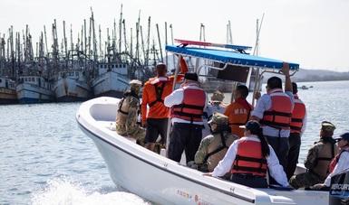 Conapesca inhibe pesca ilegal, con la retención precautoria de mil 182 toneladas de producto pesquero