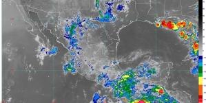 Se prevén lluvias intensas en Chiapas y muy fuertes en Chihuahua, Durango, Sinaloa, Guerrero y Oaxaca