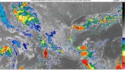 Se pronostican lluvias intensas para Nuevo León, Tamaulipas, San Luis Potosí, Hidalgo, Puebla, Veracruz y Oaxaca