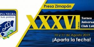Trigésimo sexto Torneo de Aniversario del Club de Pesca Lobina Negra de San Luis Potosí