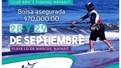 4to. Torneo Pesca De Playa Con señuelo Nayarit Enamora 2019