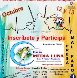 Torneo de Pesca Deportiva Malpaso