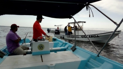 Van contra la pesca furtiva en todo México y ya se retuvieron 1.6 toneladas de productos ilegales