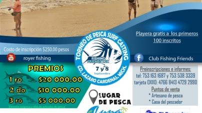 4to. Torneo de pesca Surf Casting LZC 2019