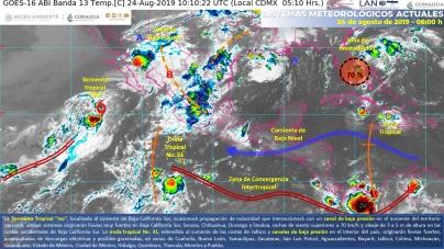 Gobierno mexicano activa Plan Marina en el Pacífico mexicano por la tormenta tropical Ivo