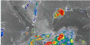Hoy se pronostican lluvias intensas en Guerrero, Oaxaca y Chiapas