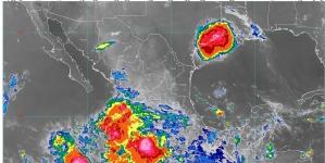 La tormenta tropical Lorena ocasionará lluvias torrenciales en Guerrero y Michoacán e intensas en Colima