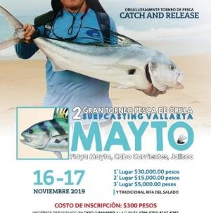2do. Gran torneo perca de orilla surfcasting Vallarta Mayto