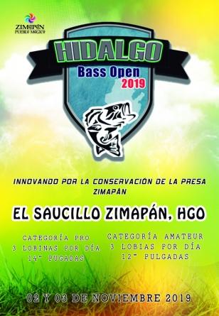Pesca en Directo en el BASS Open Zimapán 2019 de El Saucillo, Hidalgo