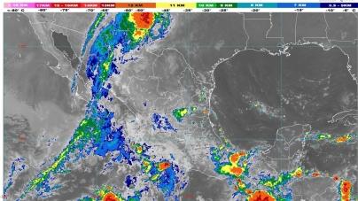 Lluvias intensas se pronostican para Oaxaca y Chiapas