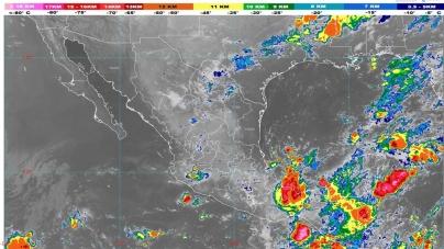 Lluvias intensas se pronostican para Puebla, Veracruz, Oaxaca, Tabasco y Chiapas