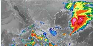 Lluvias intensas se pronostican para Nayarit, Jalisco, Colima, Michoacán y Guerrero