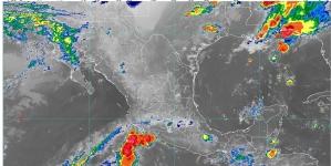 Hoy se pronostican lluvias muy fuertes para Nuevo León, Tamaulipas, Veracruz, Oaxaca y Chiapas