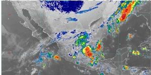 Se pronostican lluvias torrenciales para Chiapas e intensas para Hidalgo, Puebla, Veracruz, Oaxaca y Tabasco