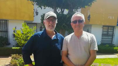 Mi amigo Adolfo Suárez, presidente el club de pesca Lobinero de Morelia, estuvo en el estudio de Pesca en Directo