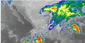Hoy se pronostican lluvias de muy fuertes a intensas en zonas de Oaxaca, Chiapas, Veracruz y Tabasco