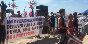 Libera accesos al público de 30 playas en Nayarit