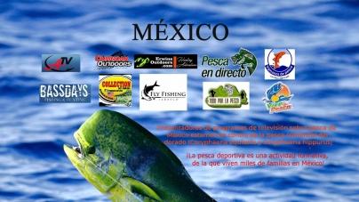 Presentadores de programas de televisión sobre pesca deportiva de México estamos en contra de la pesca comercial de dorado