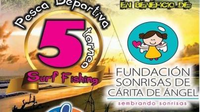 5 Torneo surf fishing en beneficio de la Fundación Sonrisas de Carita de Ángel