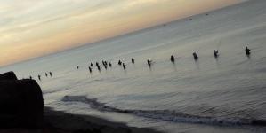 Torneo de Pesca en el Tojahui, del club de pesca Mayos Anglers Fishing Team de Navojoa, Sonora
