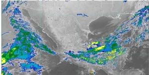 Para Hidalgo, Oaxaca, Puebla y Veracruz se pronostican lluvias fuertes