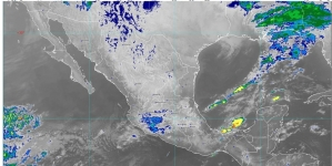 En Campeche, Chiapas, Oaxaca, Puebla, Quintana Roo, Tabasco, Veracruz y Yucatán se prevén lluvias fuertes