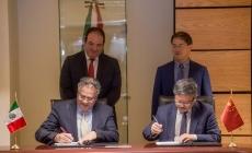 México y China firman memorándum de entendimiento para infraestructura e investigación en maricultura