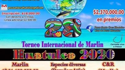 Torneo Internacional de Marlin Huatulco 2020