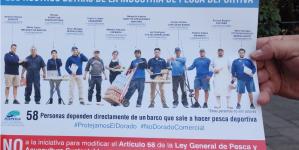 """Con oposición total a la pesca comercial del dorado (Coryphaena hippurus), """"truena"""" parlamento abierto de la diputada Claudia Yáñez"""