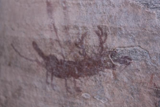 Pesca, pinturas rupestres, petroglifos en Zimapán… y COVID-19