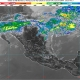 Lluvias, descargas eléctricas y granizo en Coahuila, Nuevo León y Tamaulipas; chubascos en el Valle de México