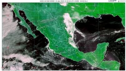 ¡Cálido! Temperaturas de 45 grados Celsius para Campeche, Chiapas, Oaxaca Tabasco, Veracruz y Yucatán