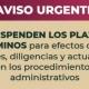 Profepa suspende trámites, diligencias y actuaciones de inspección y vigilancia