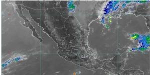 Lluvias con descargas eléctricas y granizadas en Coahuila y Nuevo León; la temperatura llegará a 45 °C en algunos estados