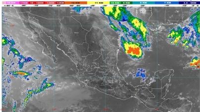 No cambia el Noreste de México: Lluvias, vientos muy fuertes, descargas eléctricas, granizadas y posibles tornados